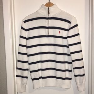 Boys Polo Ralph Lauren Quarter Zip Sweater XL